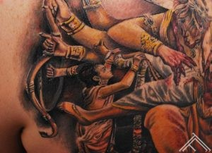 Sri Sri Narasimhadeva_tattoo_marispavlo_tattoofrequency_macro