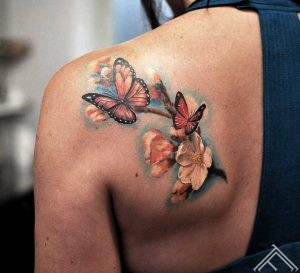 butterfly-cherryblossom-flower-ziedi-kirsuziedi-taurins-tetovejums-tattoo-janisandersons