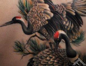 crane birds_tattoo_maris pavlo-detailshot