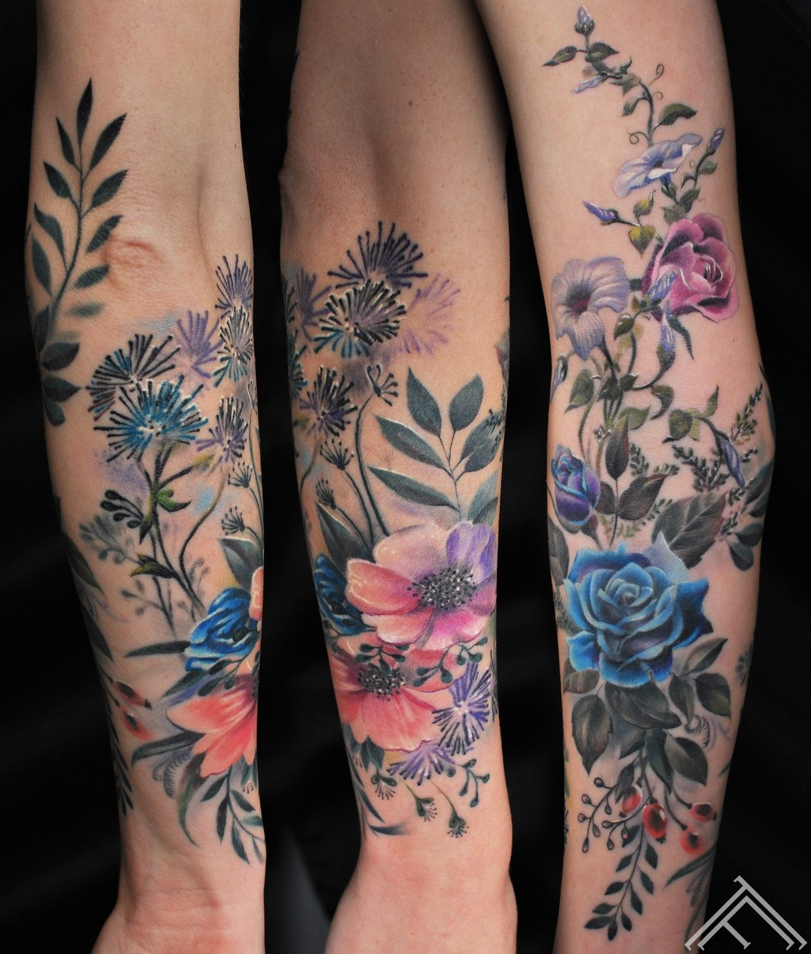 flowers-ziedi-tattoo-tattoofrequency-riga-marispavlo