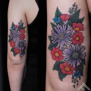 flowers_tattoo_graphic_art_tattoo_tattoofrequency_anderson_riga_instagram