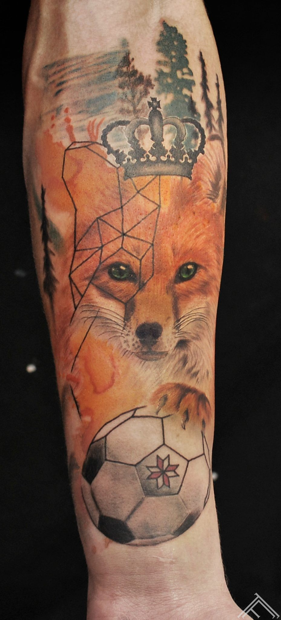 fox-animal-tattoo-tattoofrequency-janisanderson
