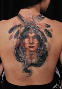 indian-girl-feathers-tattoo-tattoofrequency-riga-fb