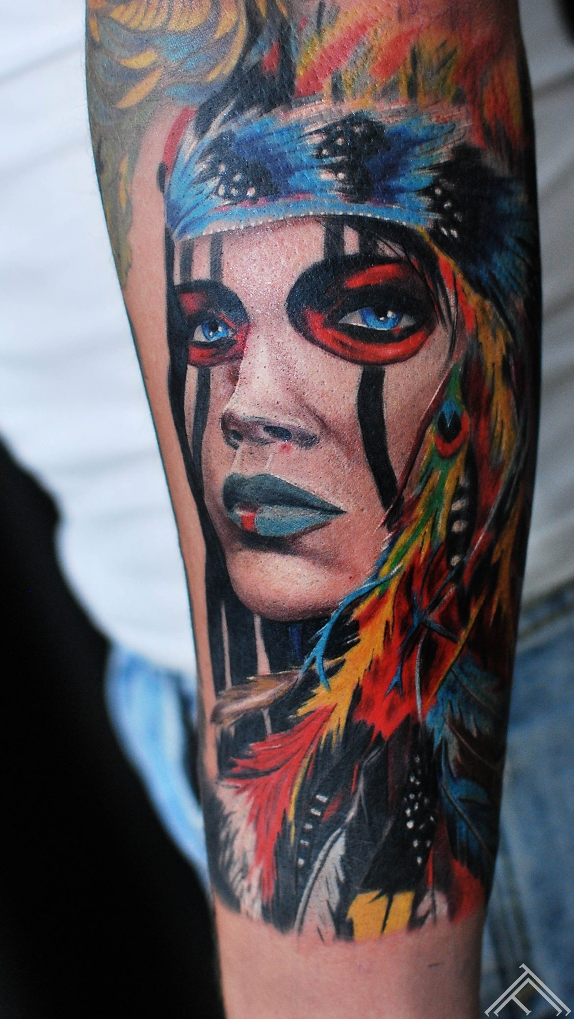 janisanderson-indian-woman-indianiete-sieviete-tattoo-tetovejums-tattoofrequency-riga