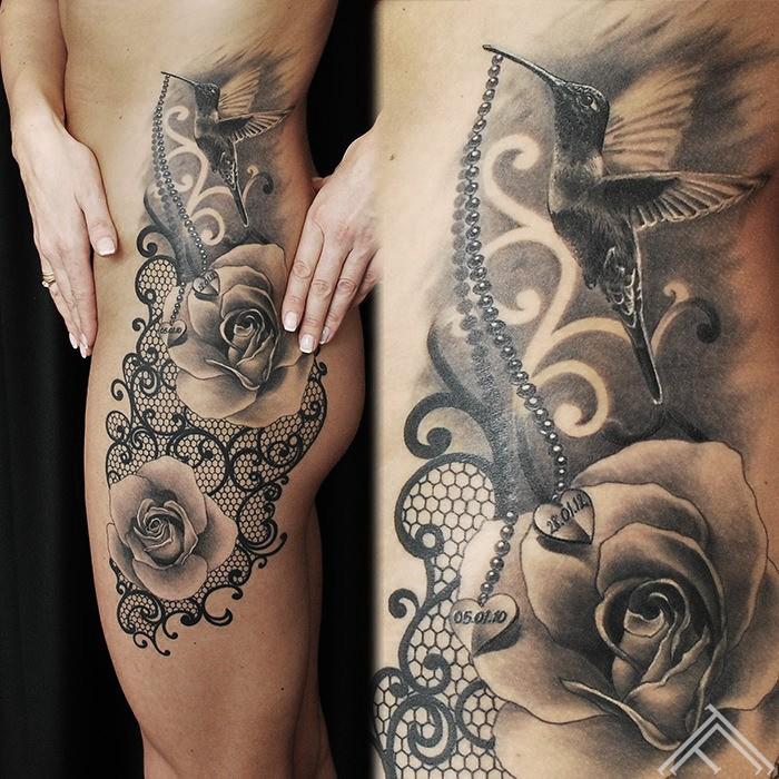 lace-colibri-rose-mezgines-kolibri-rozes-tattoo-tetovejums-tattoofrequency-studija-salons-riga-art-martinssilins-maksla