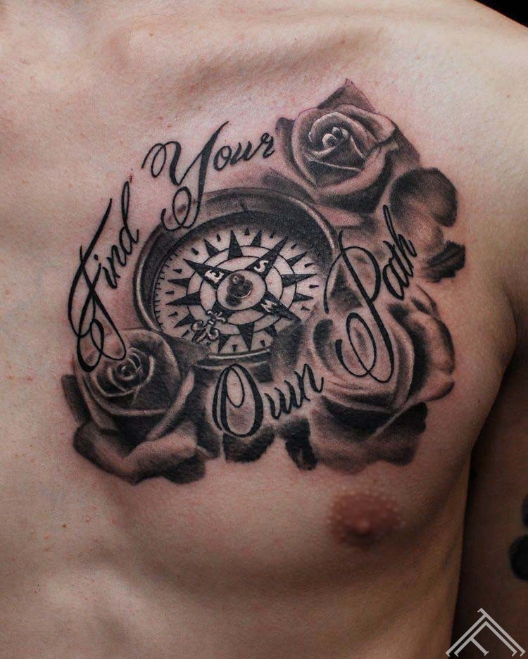martinssilins-tattoo-compass-roses-rozes-riga-latvija-tattoofrequency-kompas-art-maksla