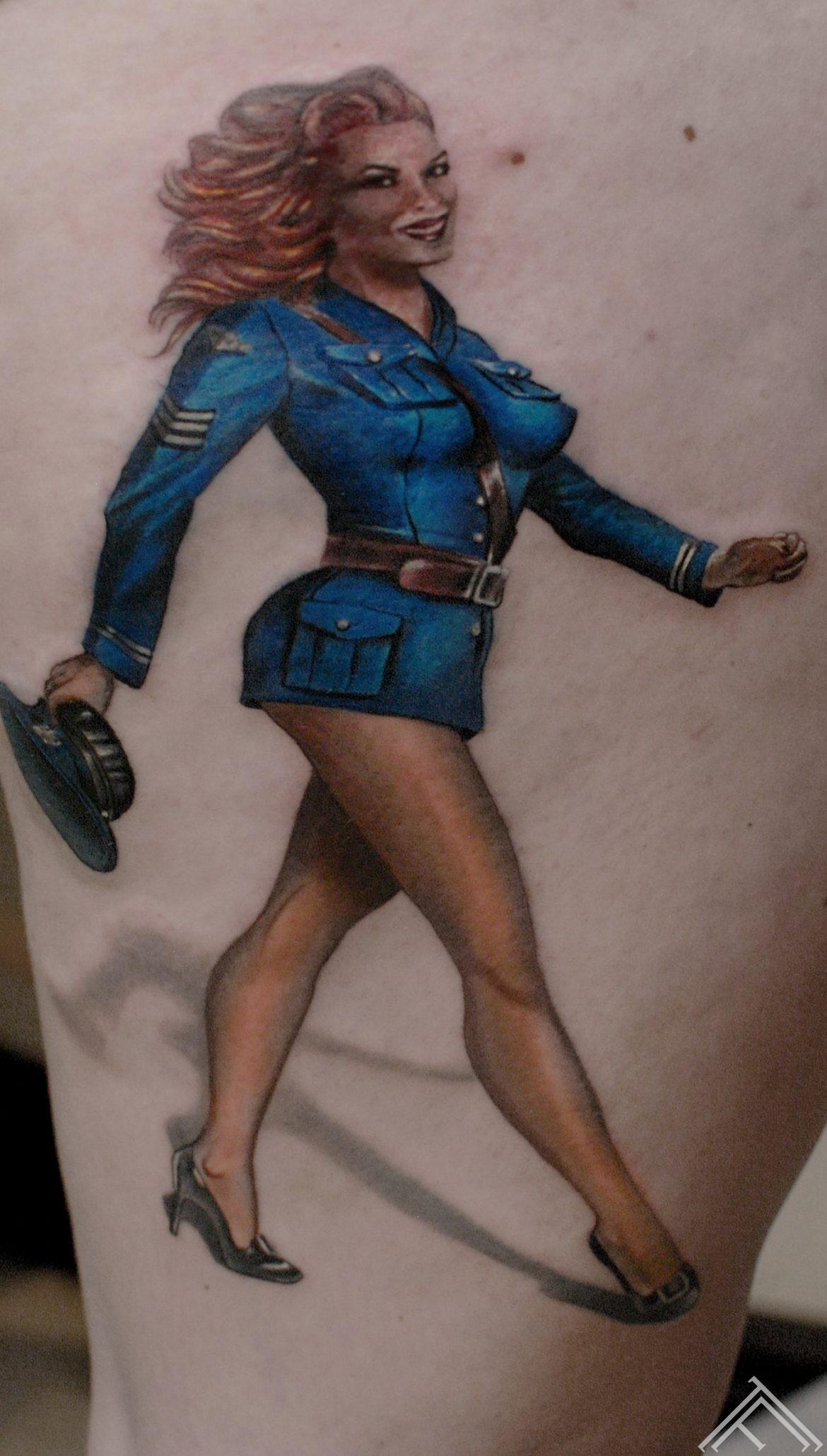 pinup-girl-tattoo-tattoofrequency-tattoosaloon-tattoostudioinriga