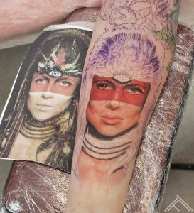 portrait-indian-inprocess-tattoo-tattoofrequency-riga-janisandersons-art-maksla