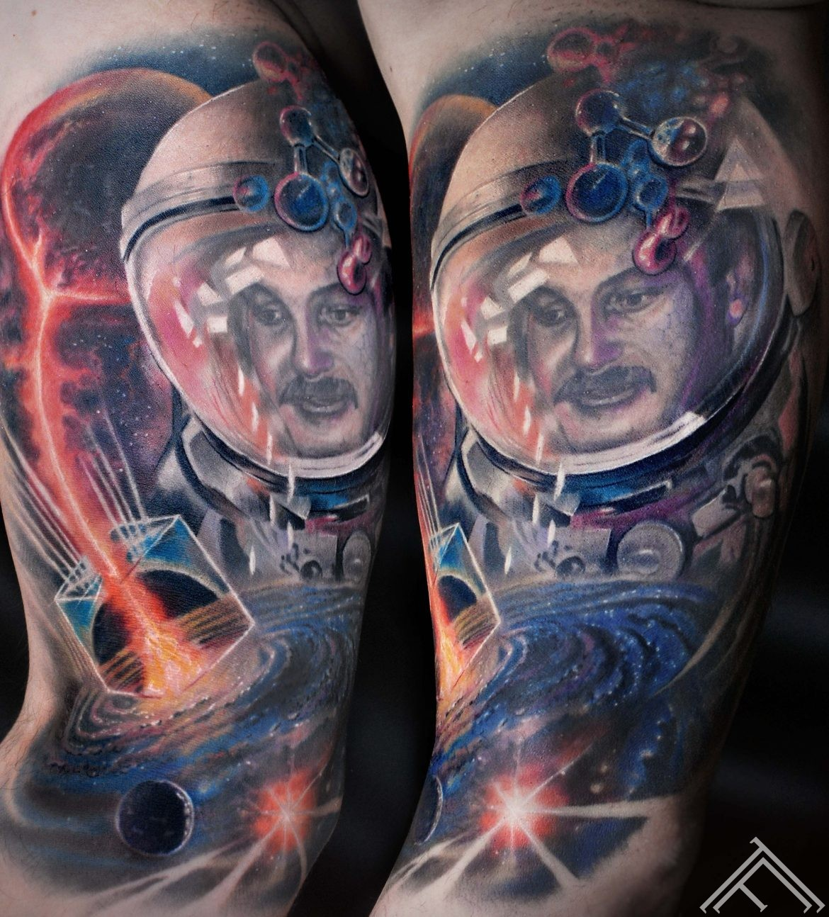 spaceman-galaxy-tattoo-tattoofrequency-marispavlo-art-healed-tetovejums-riga