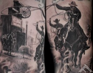 western-wildwest-horse-cowboy-ranch-zirgs-kovbojs-tetovejums-tattoo-tattoofrequency-art-riga