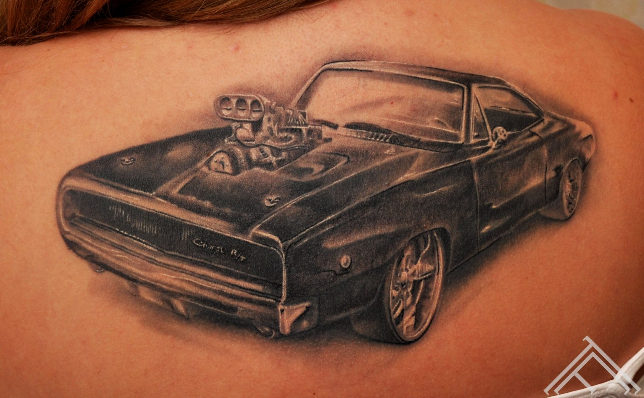 1970 charger fastfurious custom tattoo car dodge for Fast and furious tattoo