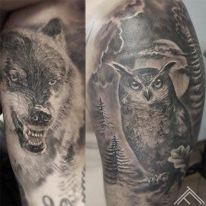 Reinis-hennessy-tattoo-tattoofreqyency-riga-marispavlo-akcija-kampana-wolf-vilks-owl-puce-instagram