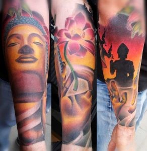 budha_lotus_arm_temple_maris pavlo_tattoo