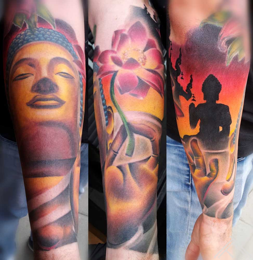 budha_lotus_arm_temple_maris pavlo_tattoo