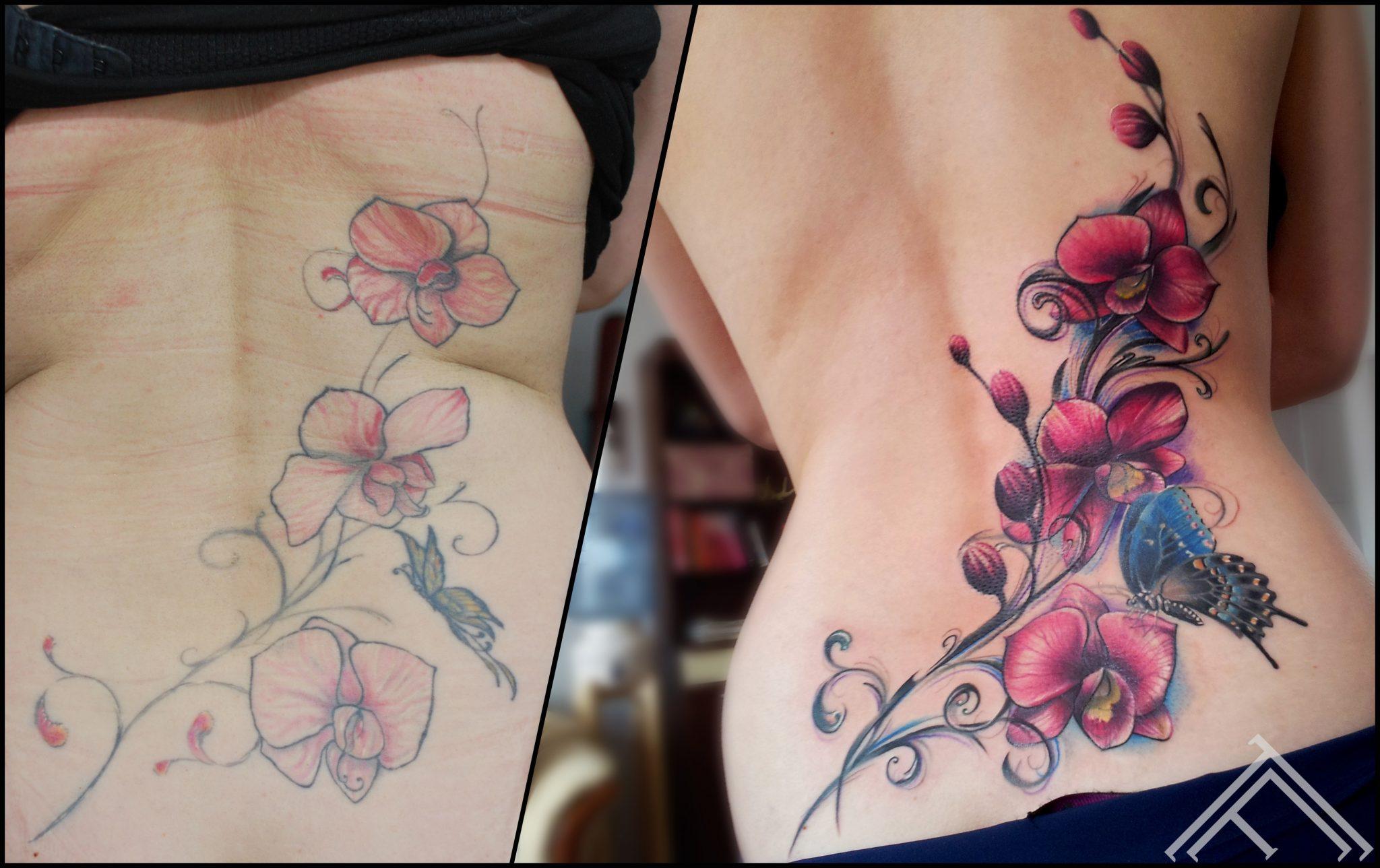 Цветы орхидеи для тату фото