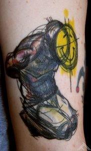 derek hess_maris pavlo tattoo