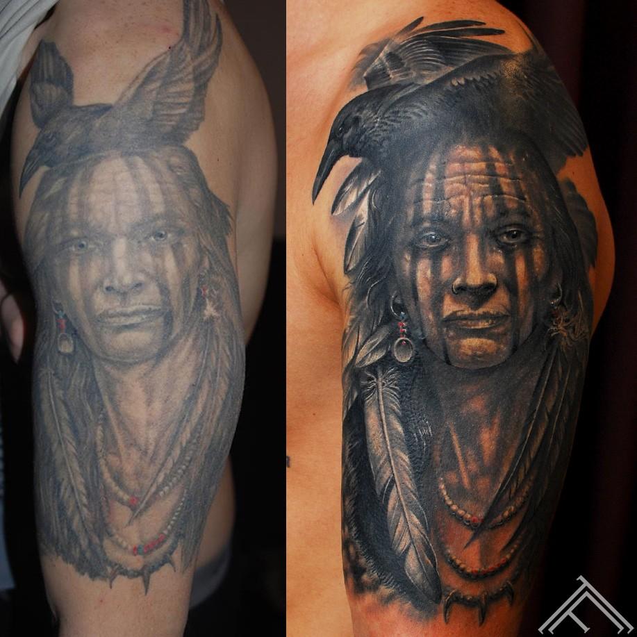 indian_Iamcrow_artist_KirbySattler _tattoo_coverup_marispavlo_tattoofrequency