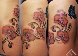 orchids_flowers_butterfly_tattoo_tattoostudio_tattoofrequency_tattooshop