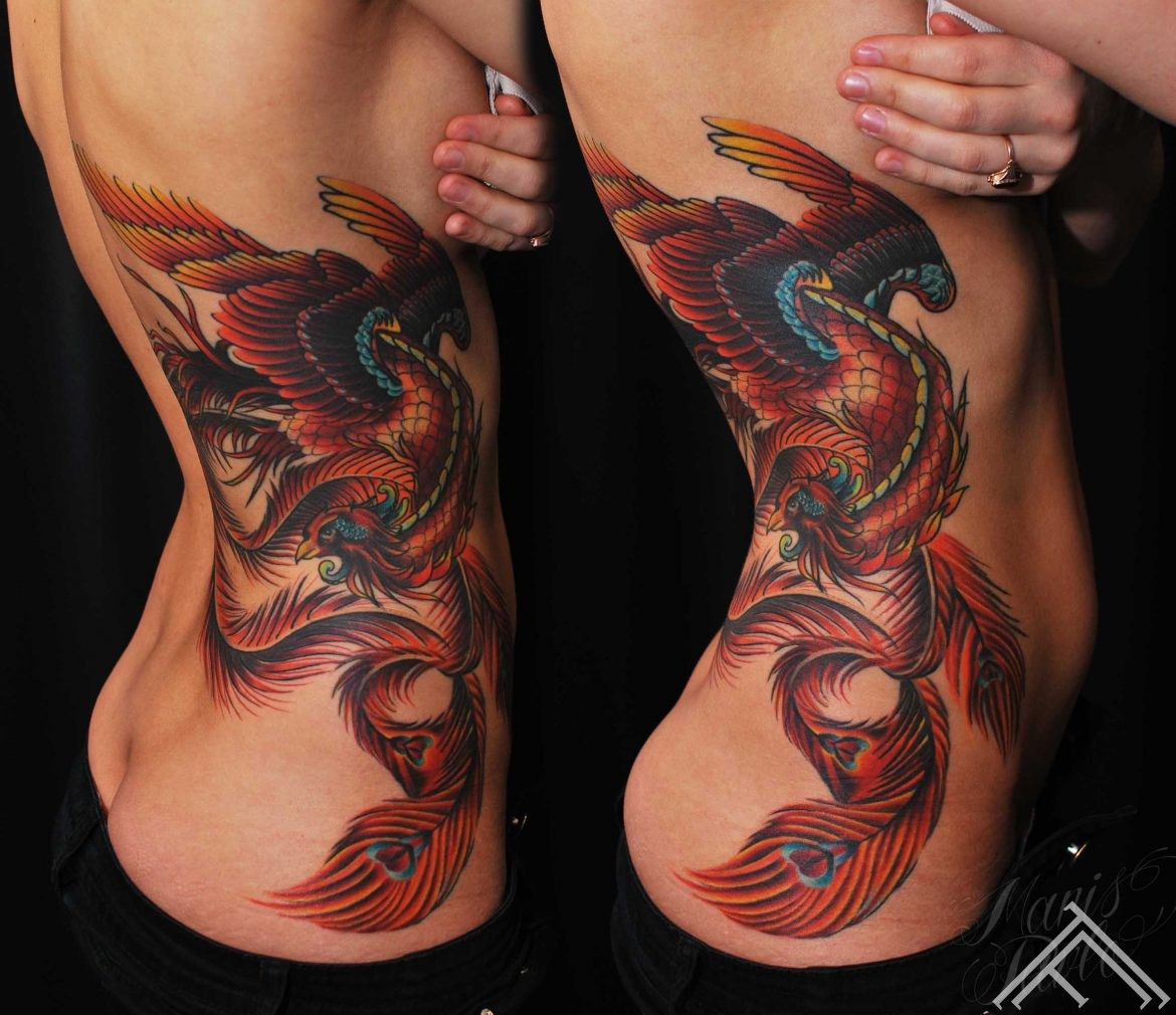 phoenix_bird_newtradicional_tattoo_maris pavlo_sexy_side_large_color_tattoofrequency_rigatattoo_riga_page