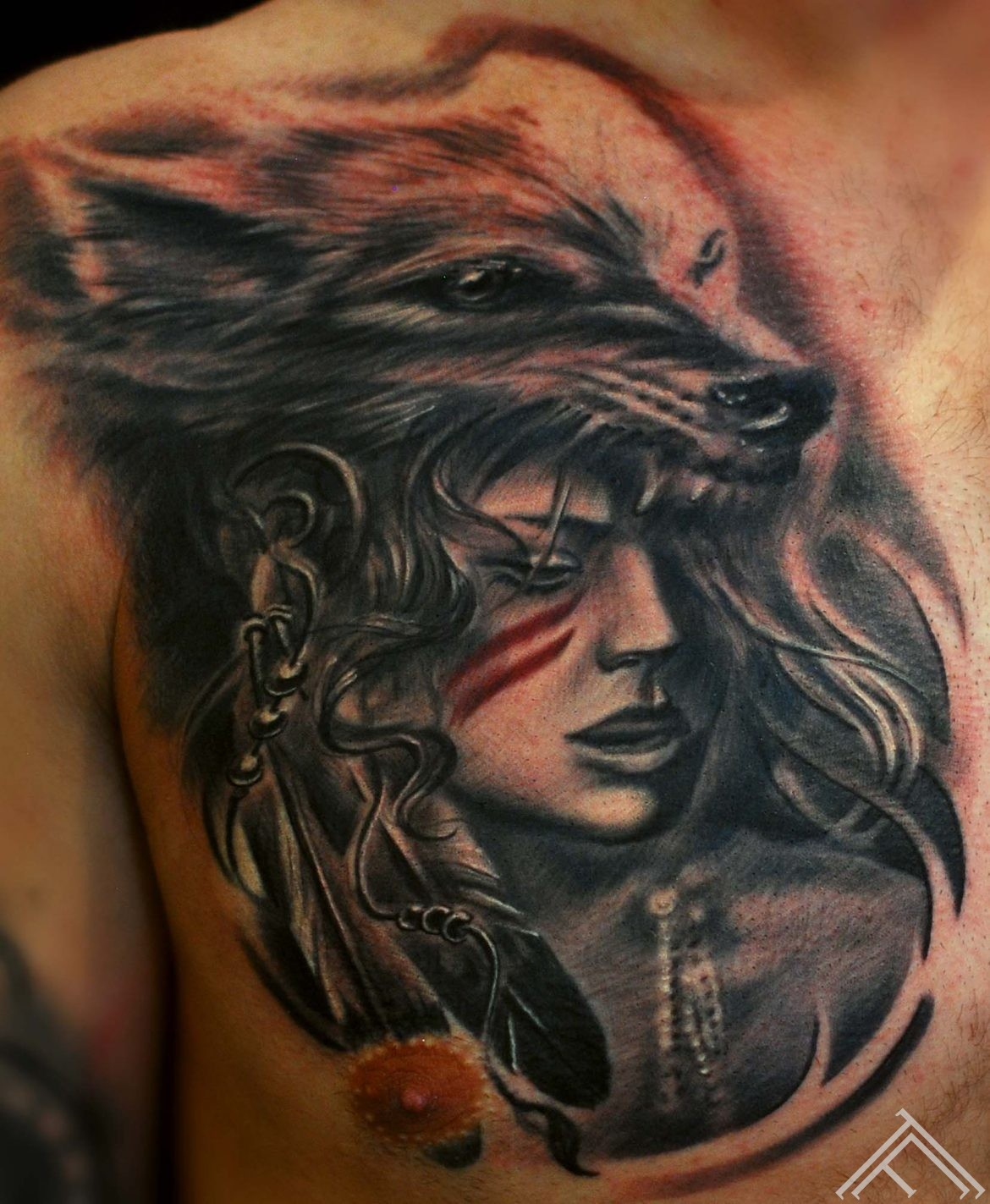 wolf_woman_tattoo_tattoofrequency_riga_art_TF