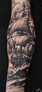 JoacimEriksson-ship-sailing-manofwar-sea-waves-ocean-marispavlo-tattoofrequency