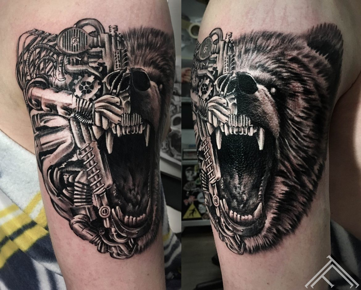 bear-mechanical-tattoo-tattoofrequency-riga-razin