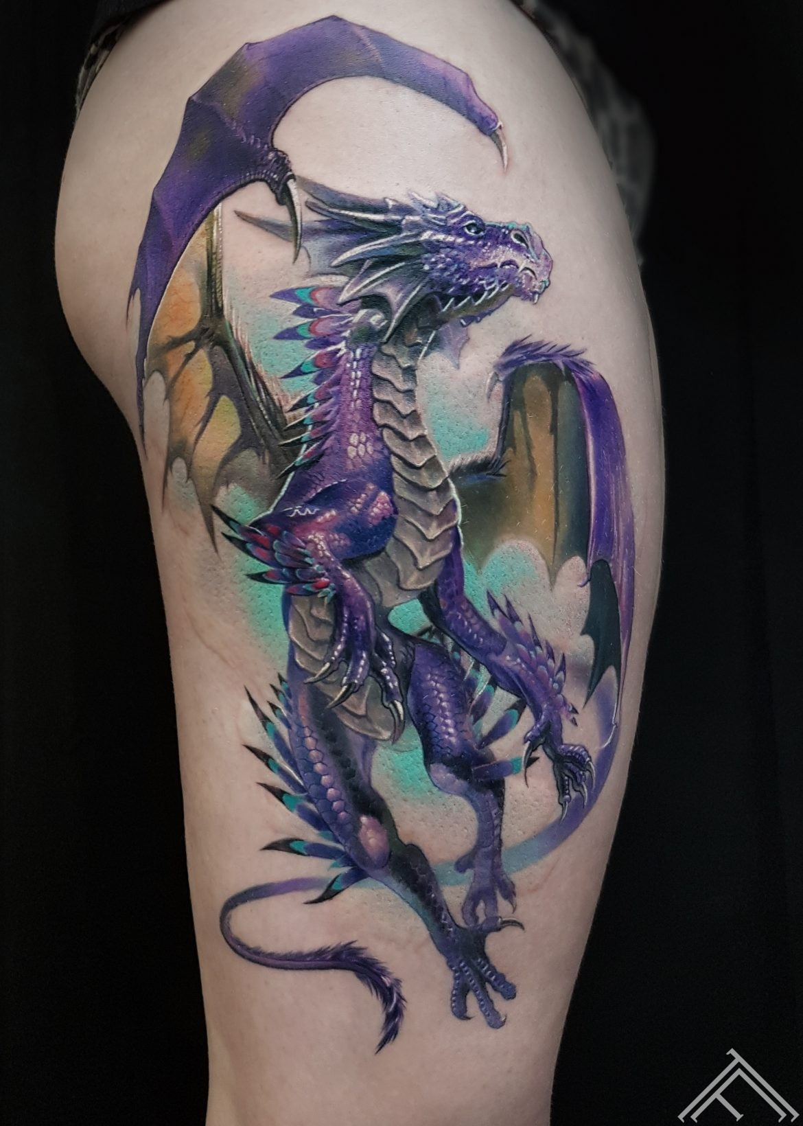 dragon-fantasy-tattoo-tattoofrequency-marispavlo