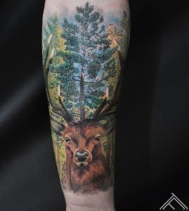 janisanderson-deer-forest-tattoofrequency-riga
