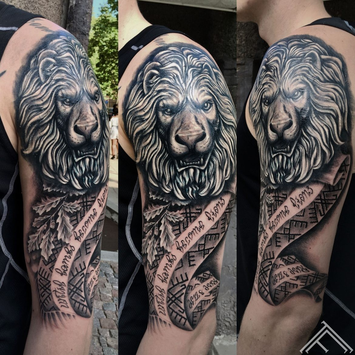 lion-latviansymbols-tattoo-latviesuzimes-tattoofrequency