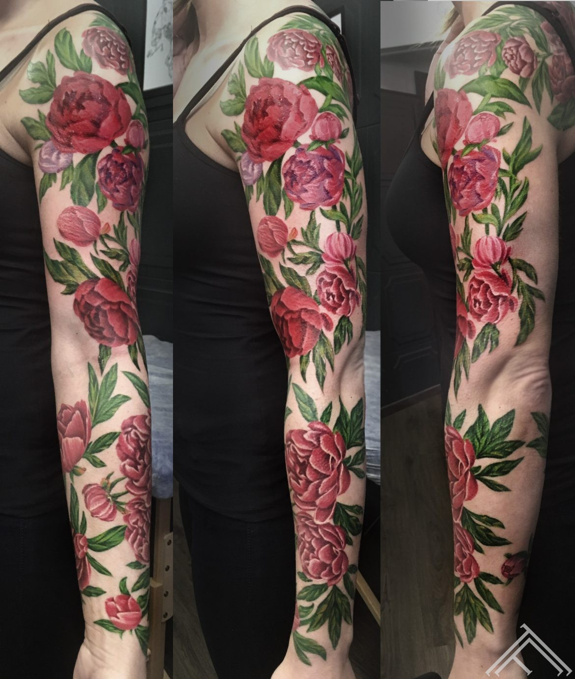 sleeve-sleevetattoo-flowersleeve-tattoofrequency-razin-tattoo-flowers-peony-tetovejums-peonijas-