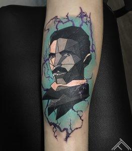 tesla-tattoo-geometrical-linework-tattoofrequency-riga