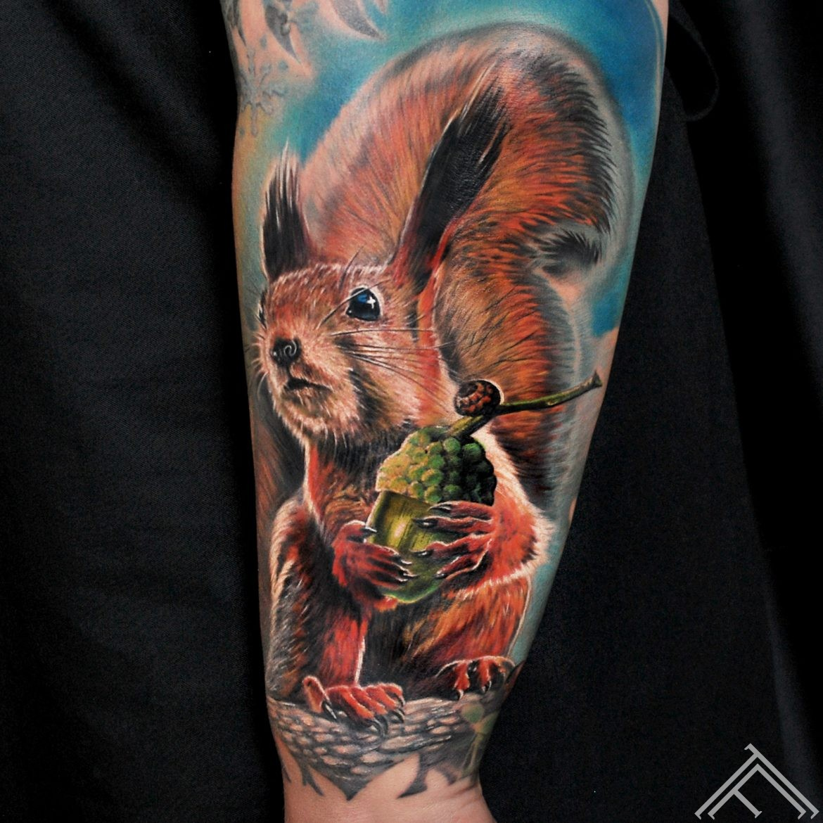 squirrel-animal-vavere-tattoo-tetovejums-tattoofrequency-riga