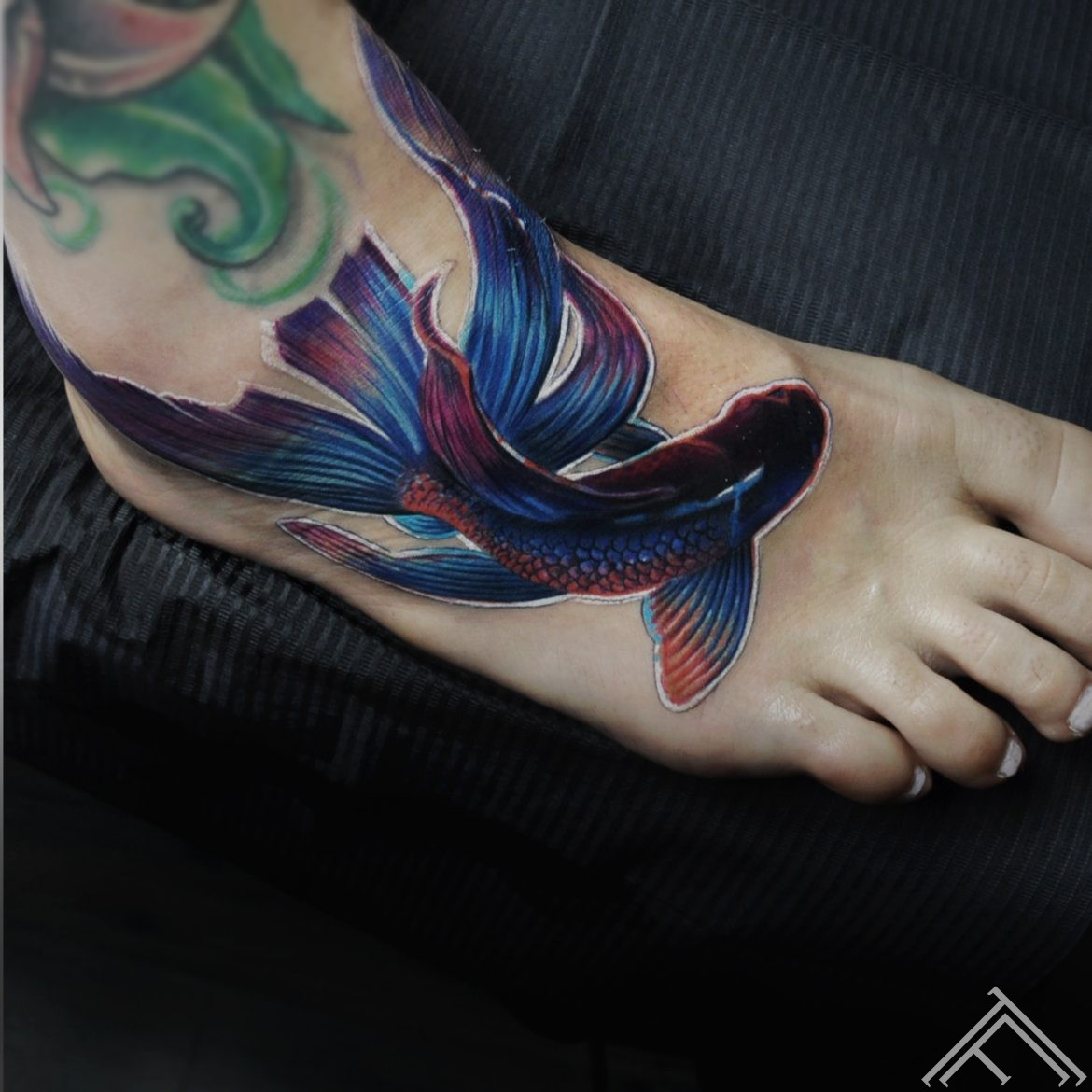 siamese-fighting- fish-zivs-tattoo-tattoofrequency2