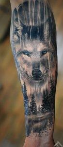 wolf-wood-forest-sprunce-pine-animal-marispavlo-tattoofrequency-riga