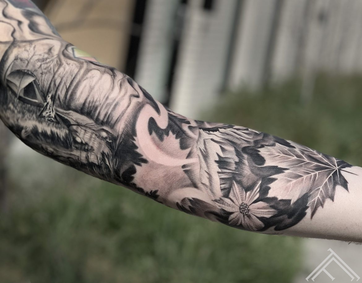 travel-forest-leafes-tattoo-tattoofrequency-riga-dmitryrazin
