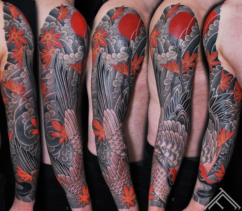 uldispaulins-tattoo-tattoofrequency-riga-tradicional-fullsleeve